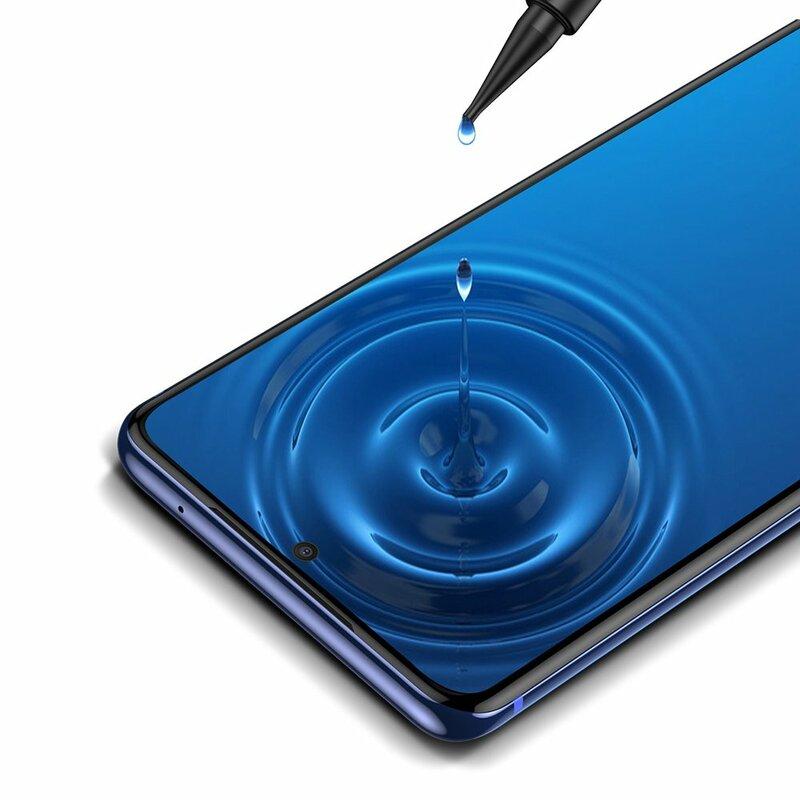[Pachet 2x] Folie Sticla Samsung Galaxy S20 5G Baseus UV Curved Screen Tempered Glass - SGSAS20-UV02 - Clear