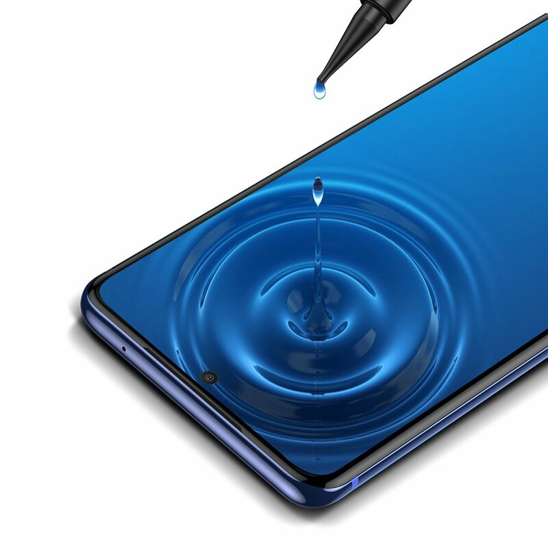 [Pachet 2x] Folie Sticla Samsung Galaxy S20 Ultra 5G Baseus UV Curved Screen Tempered - SGSAS20U-UV02 - Clear