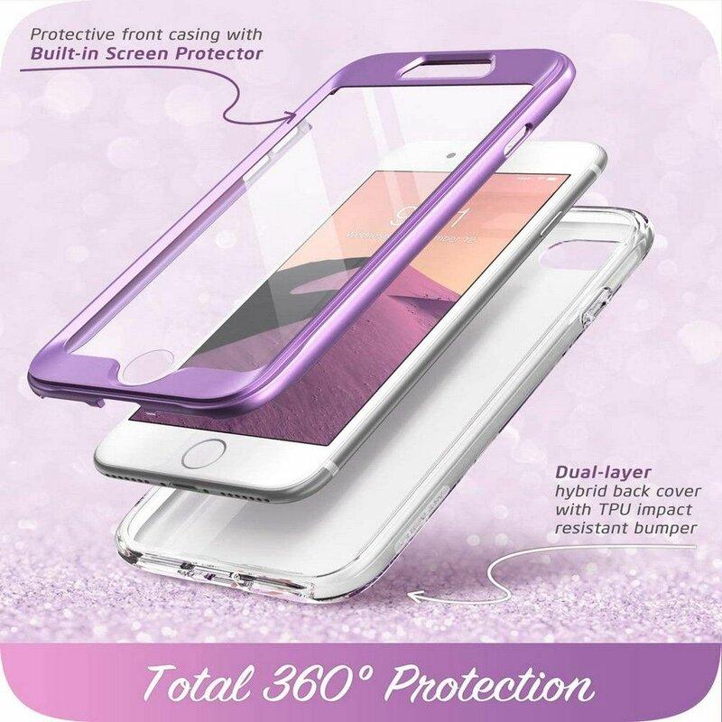 [Pachet 360°] Husa iPhone 8 I-Blason Cosmo + Folie Ecran - Ameth