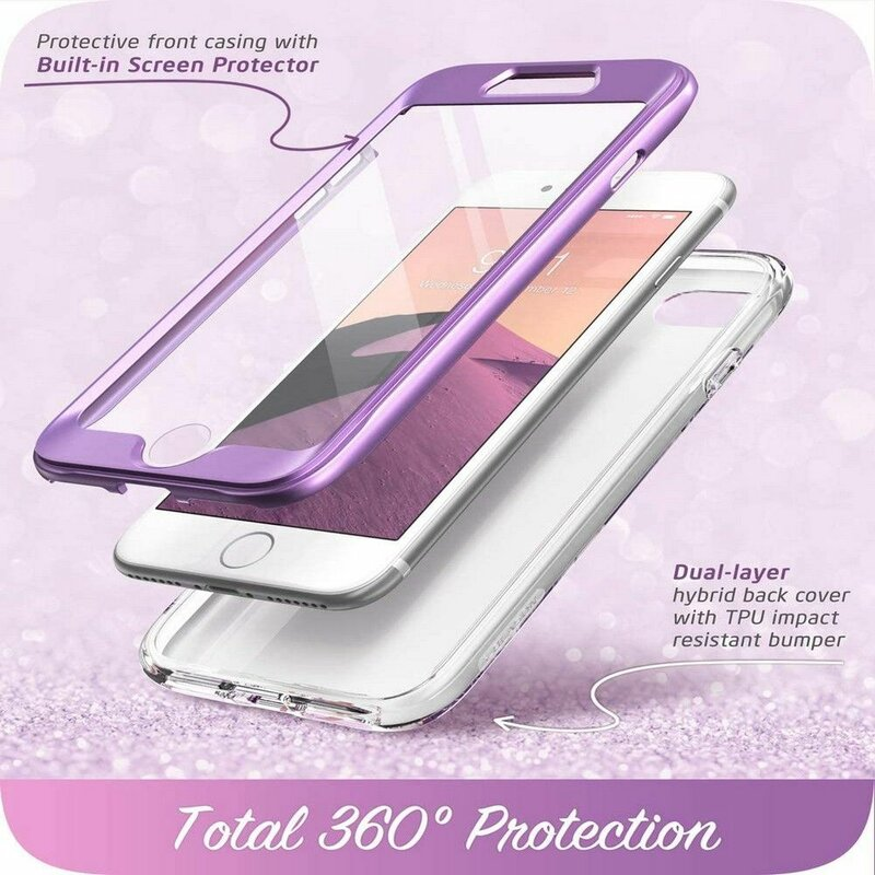 [Pachet 360°] Husa iPhone SE 2, SE 2020 I-Blason Cosmo + Folie Ecran - Ameth