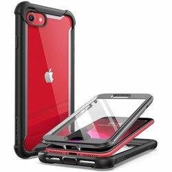 [Pachet 360°] Husa iPhone 8 i-Blason Ares + Folie Ecran - Black