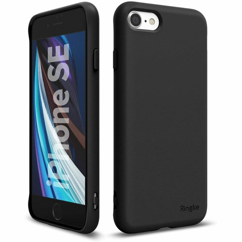 Husa iPhone SE 2, SE 2020 Ringke Air S - Black