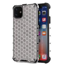 Husa iPhone 11 Honeycomb Armor - Transparent
