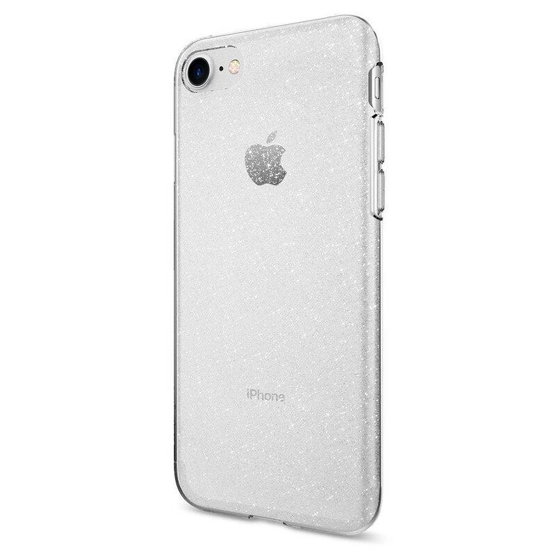 Husa iPhone 7 Spigen Liquid Crystal - Glitter - Crystal Quartz