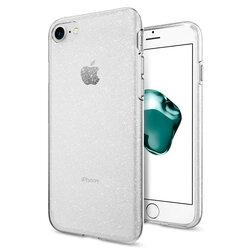 Husa iPhone 8 Spigen Liquid Crystal - Glitter - Crystal Quartz
