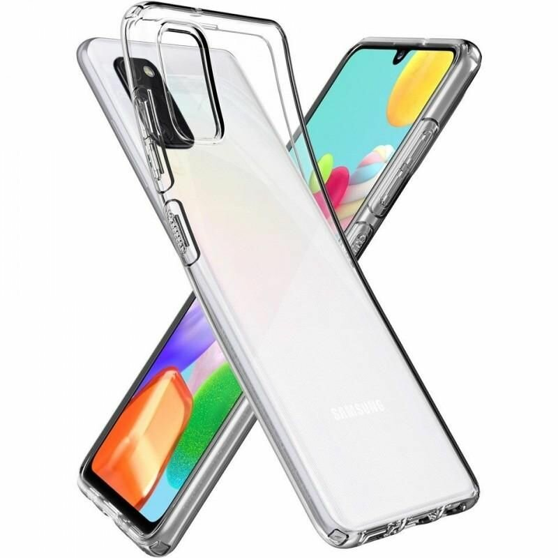 Husa Samsung Galaxy A41 Spigen Liquid Crystal - Crystal Clear