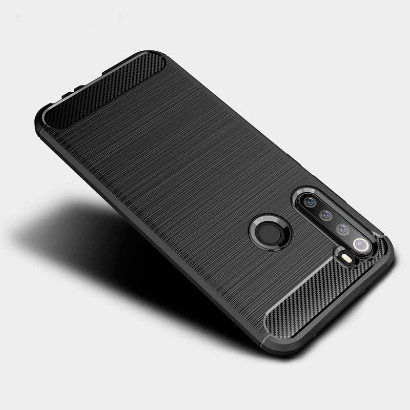 Husa Xiaomi Redmi Note 8T TPU Carbon - Negru