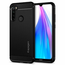 Husa Xiaomi Redmi Note 8T Spigen Rugged Armor - Matte Black