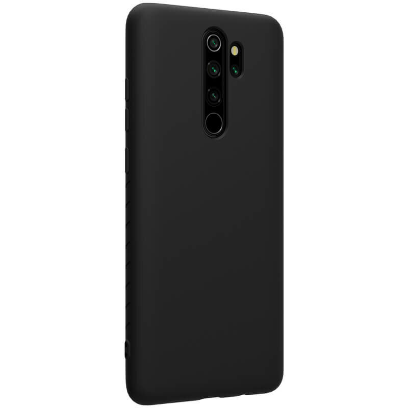 Husa Xiaomi Redmi Note 8 Pro Nillkin Rubber-wrapped - Black