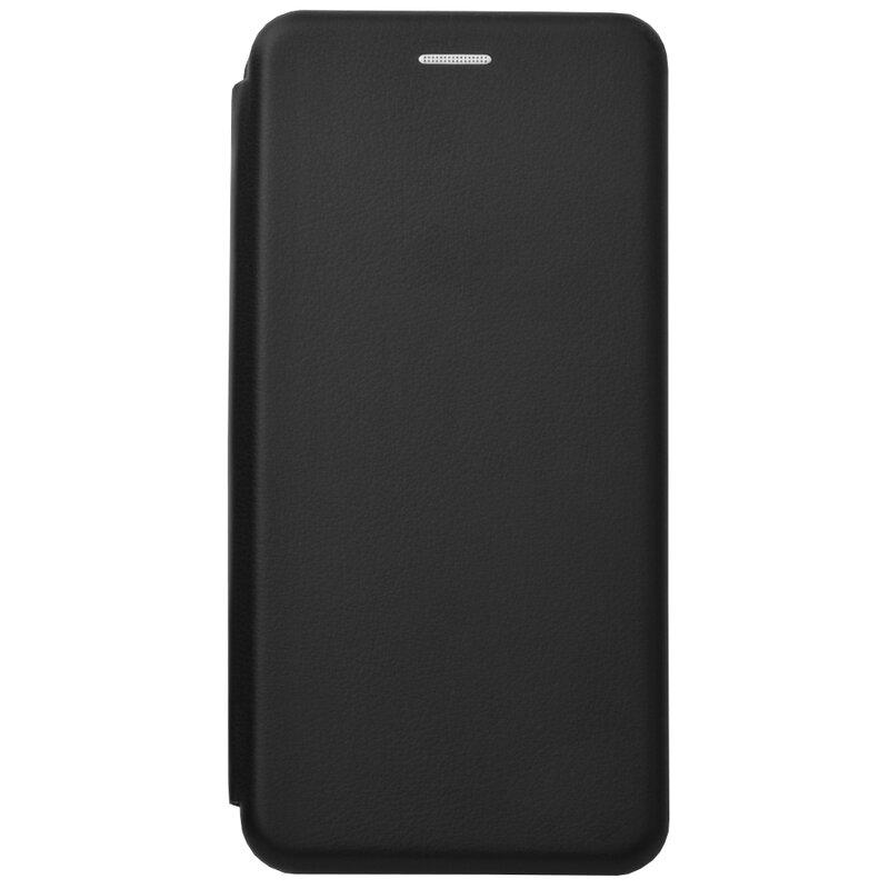 Husa Samsung Galaxy A21 Flip Magnet Book Type - Black