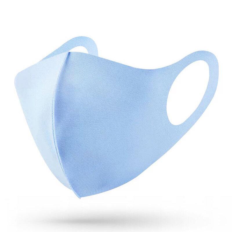 Masca De Protectie Fdtwelve C1 Pentru Fata Din Bumbac Nesterila Universala 2 Straturi Adulti Reutilizabila - Bleu