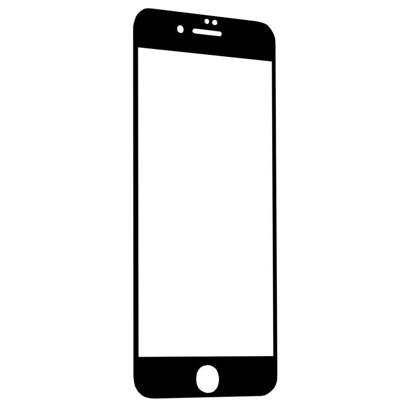 Folie Sticla iPhone 8 Plus Wozinsky 5D Full Screen Tempered - Negru