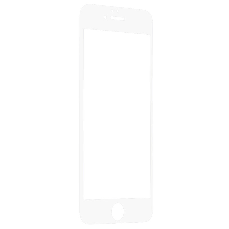 Folie Sticla iPhone 6 / 6S Wozinsky 5D Full Screen Tempered - Alb