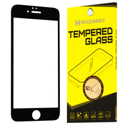 Folie Sticla iPhone 6 / 6S Wozinsky 5D Full Screen Tempered - Negru
