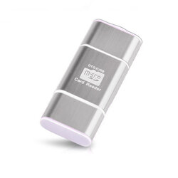 Card Reader OTG High-speed USB 2.0 + Micro-USB - CRM004 - Argintiu