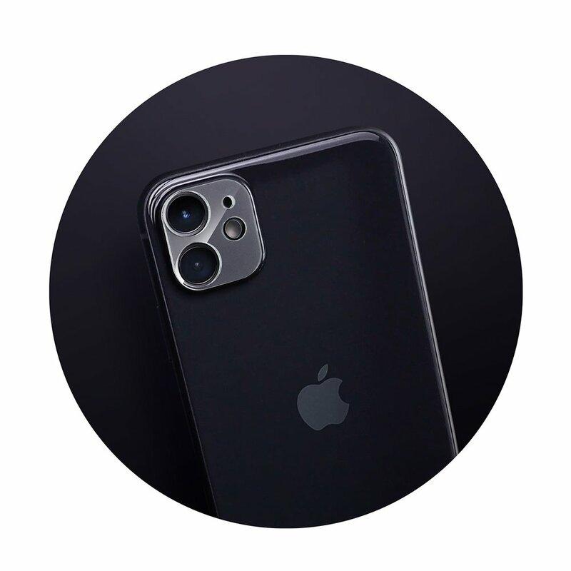 Folie Sticla iPhone 11 Bluestar Camera Lens Glass Full Cover - Clear