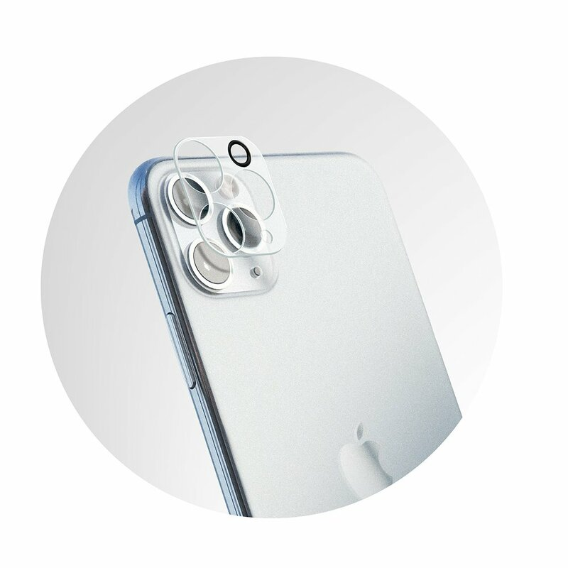 Folie Sticla iPhone 11 Pro Max Bluestar Camera Lens Glass Full Cover - Clear