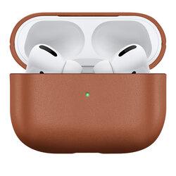 Husa Apple Airpods Pro Native Union Leather Case Din Piele Naturala Italiana Premium Fabricata Manual - Tan