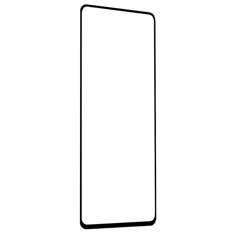Folie Sticla Samsung Galaxy A51 Lito 2.5D Full Glue Full Cover Cu Rama - Negru