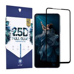 Folie Sticla Huawei Honor 20 Lito 2.5D Full Glue Full Cover Cu Rama - Negru