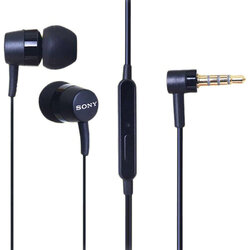 Casti In-Ear Originale Sony MH-750 HQ Headset Cu Fir Si Microfon Universale 3.5mm 1.4m - Bulk - Black