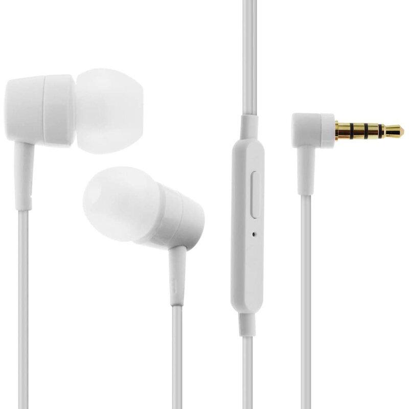 Casti In-Ear Originale Sony MH-750 HQ Headset Cu Fir Si Microfon Universale 3.5mm 1.4m - Bulk - White