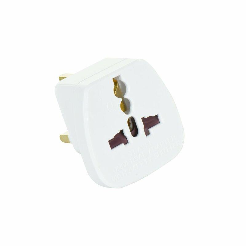Adaptor Priza Universal Adapter AC220V [UK - PL/EU] QZ36 - Bulk - White
