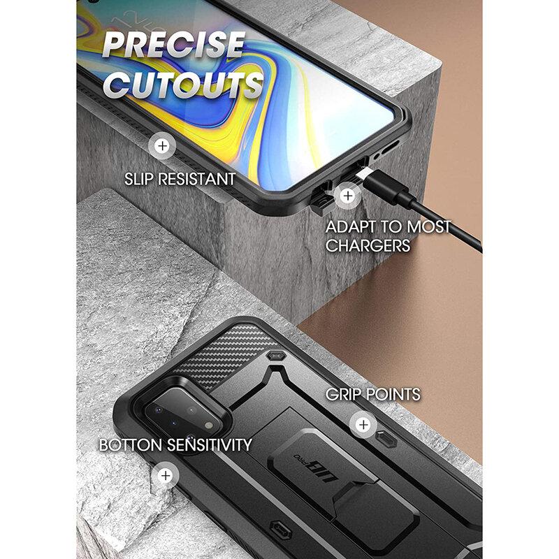 Husa Samsung Galaxy A51 Supcase Unicorn Beetle Pro + Folie Ecran - Black