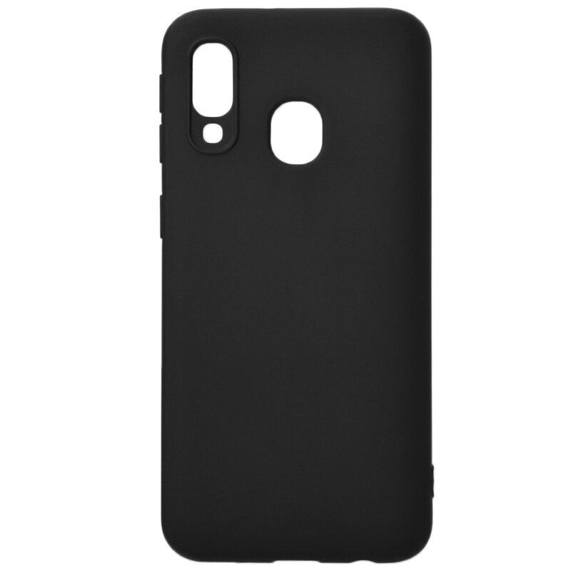 Husa Samsung Galaxy A40 Soft TPU - Negru