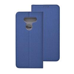 Husa Smart Book LG K50S Flip - Albastru