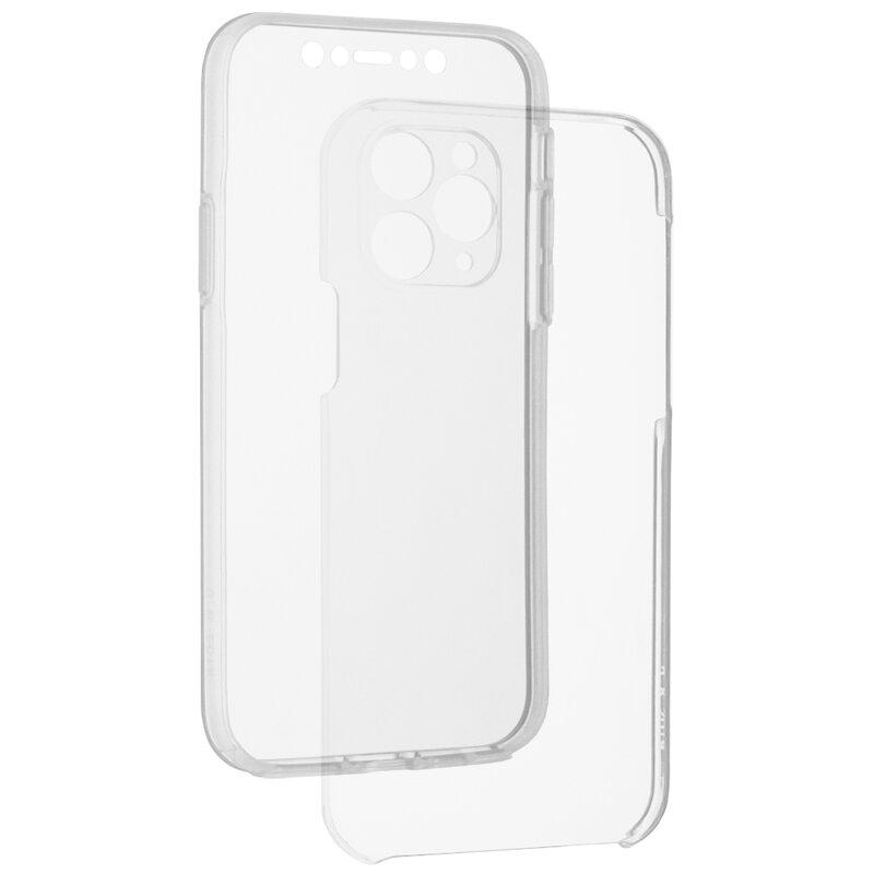 Husa iPhone 11 Pro FullCover 360 - Transparent