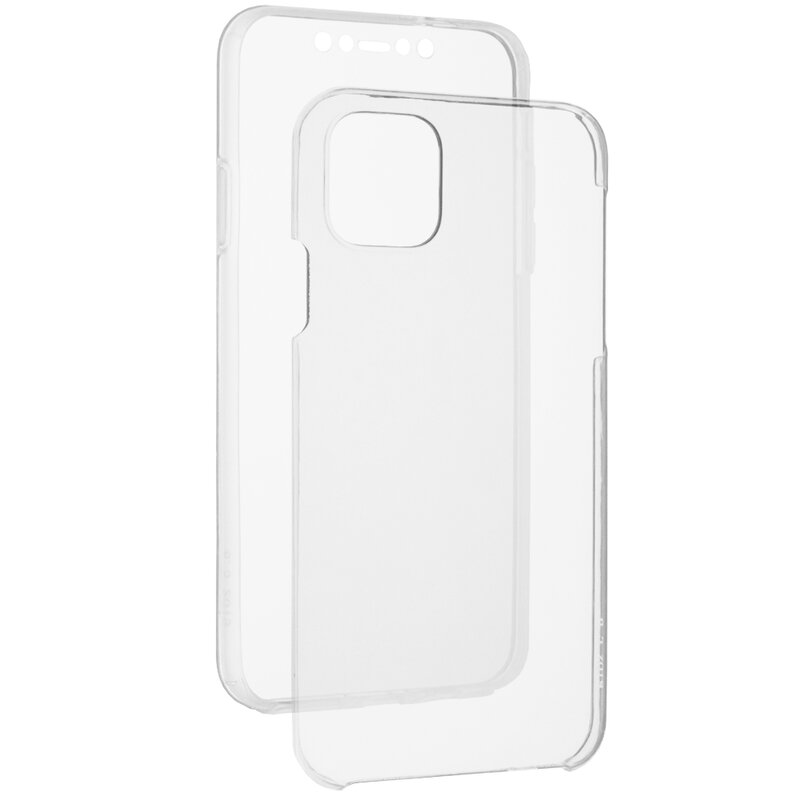 Husa iPhone 11 Pro Max FullCover 360 - Transparent