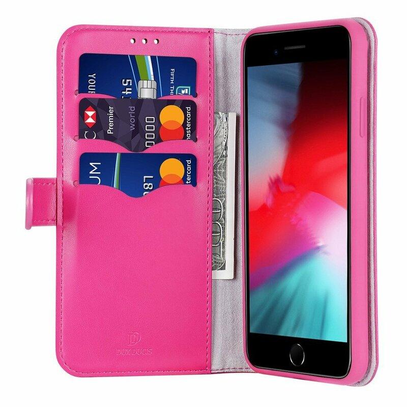 Husa iPhone 7 Dux Ducis Kado Series Book - Roz