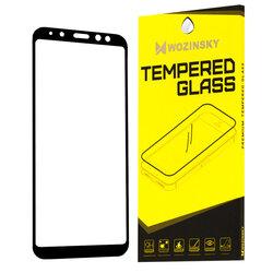 Folie Sticla Samsung Galaxy A6 2018 Wozinsky Full Glue Full Cover - Negru