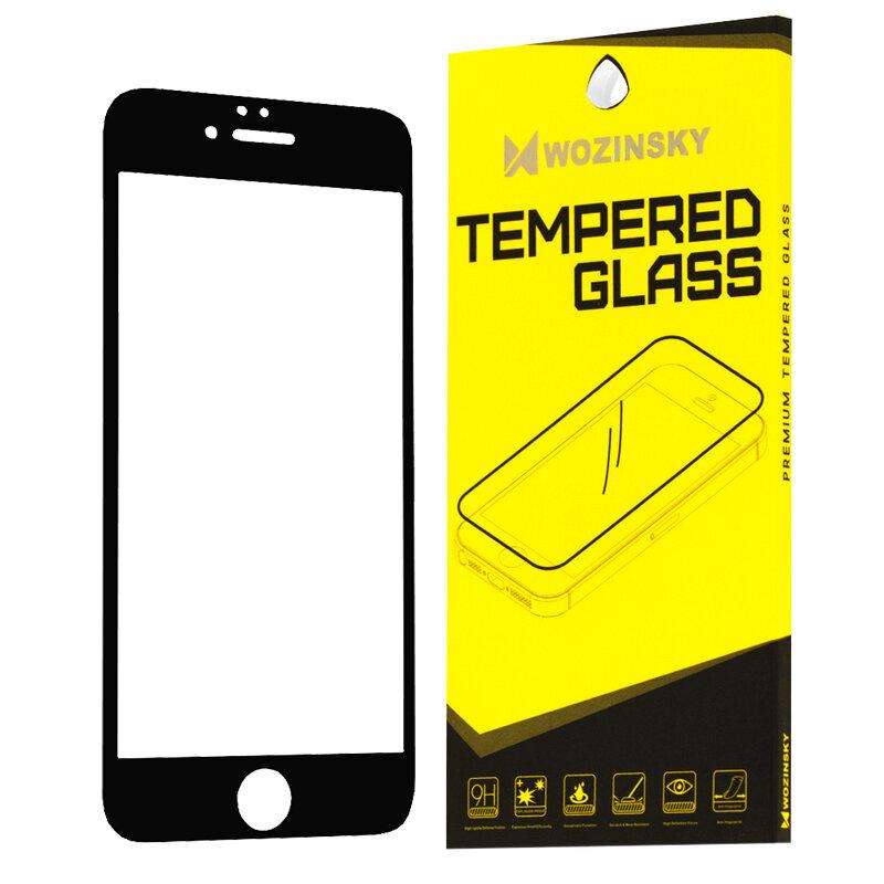 Folie Sticla iPhone 8 Wozinsky Full Glue Full Cover - Negru
