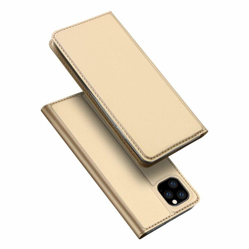 Husa iPhone 11 Pro Max Dux Ducis Skin Pro - Auriu