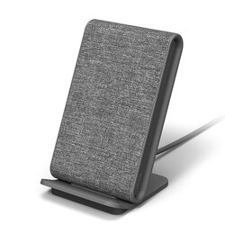 Incarcator Wireless iOttie iON Wireless Stand Fast Charging Qi Pad 10W Android / 7.5W iPhone - Ash / Grey