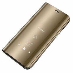 Husa Samsung Galaxy A51 Flip Standing Cover - Gold