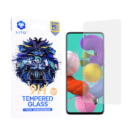 Folie Sticla Samsung Galaxy A51 Lito 9H Tempered Glass - Clear