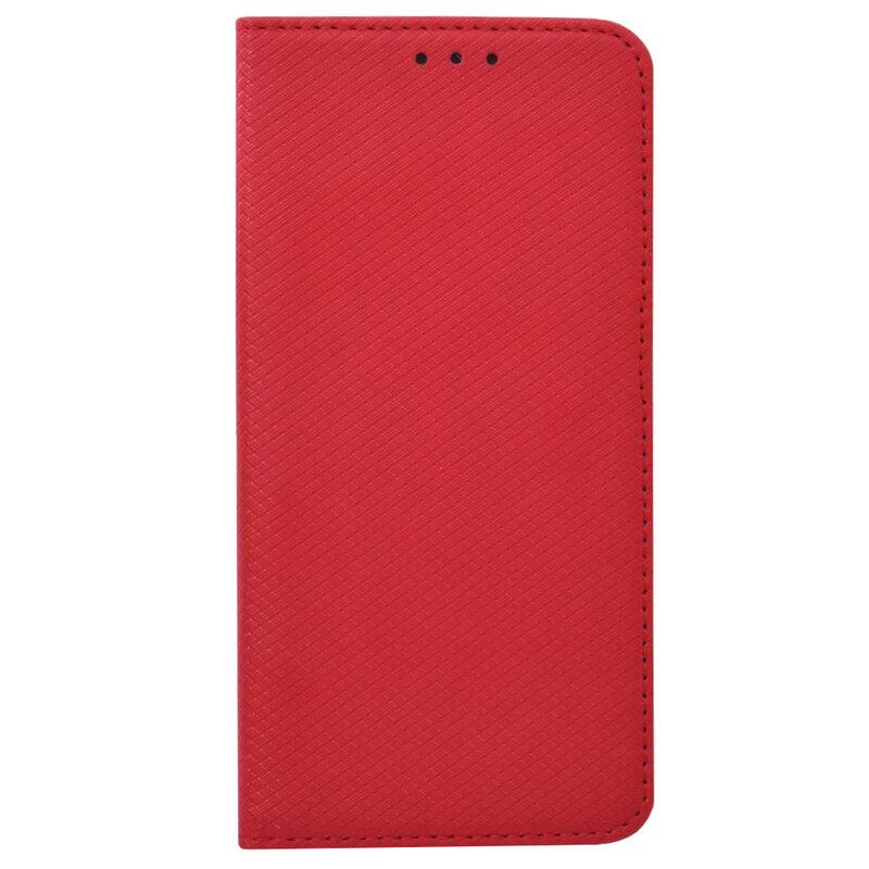Husa Smart Book iPhone 7 Flip Rosu