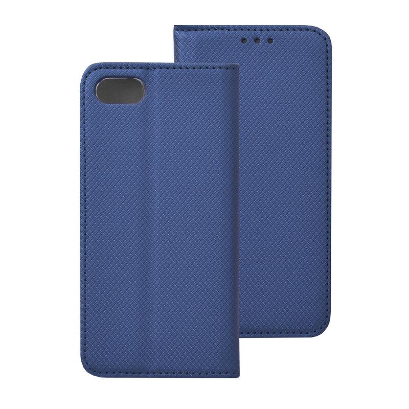 Husa Smart Book iPhone 7 Flip Albastru