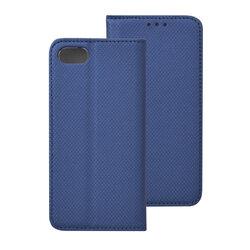Husa Smart Book iPhone SE 2, SE 2020 Flip - Albastru