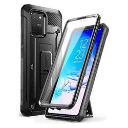 Husa Samsung Galaxy S10 Lite Supcase Unicorn Beetle Pro + Folie Ecran - Black