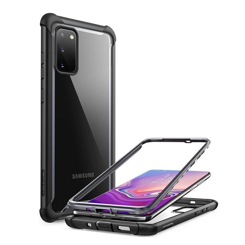 Husa Samsung Galaxy S20 5G i-Blason Ares + Bumper - Black