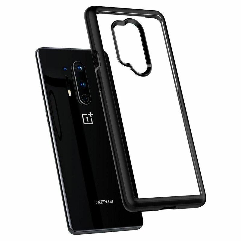 Husa OnePlus 8 Pro Spigen Ultra Hybrid - Matte Black
