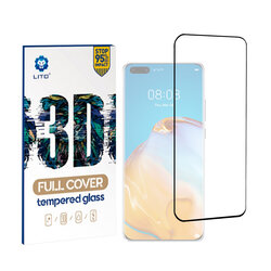 Folie Sticla Huawei P40 Pro Plus Lito 3D Full Cover Cu Rama - Black