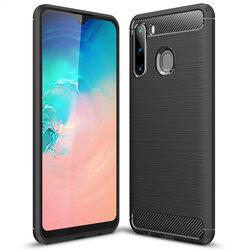 Husa Samsung Galaxy A21 TPU Carbon - Negru