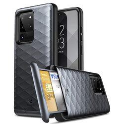 Husa Samsung Galaxy S20 Ultra 5G Clayco Argos - Black