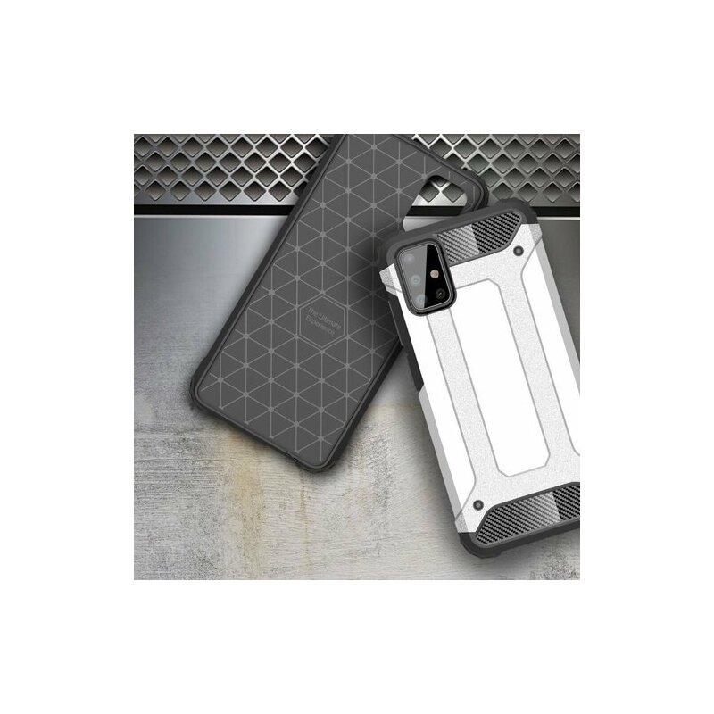 Husa Samsung Galaxy A51 Hybrid Armor - Argintiu