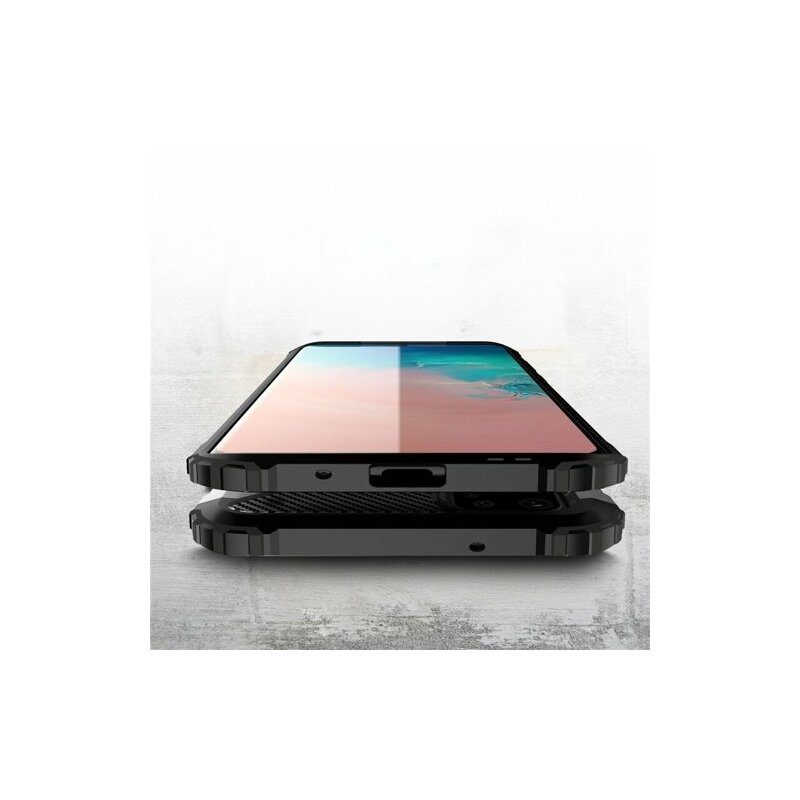 Husa Samsung Galaxy S20 Ultra 5G Hybrid Armor - Argintiu